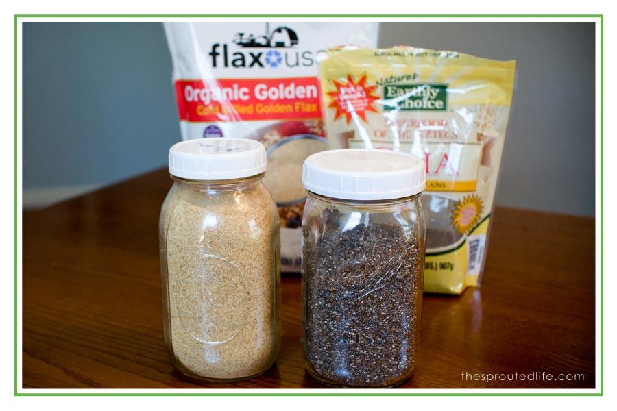 flax seed eggs
