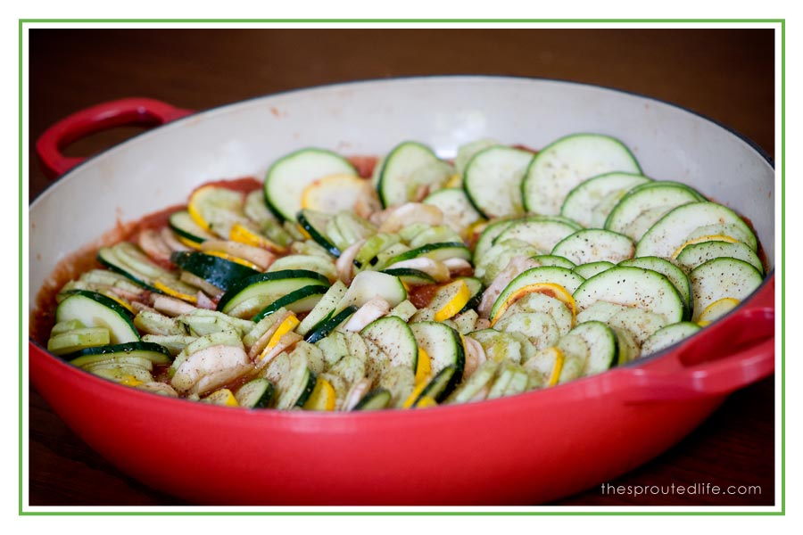 simple summer ratatouille