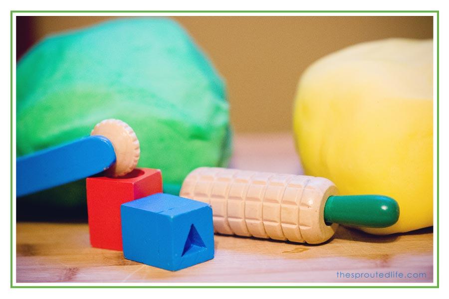 preschool & gluten free play-dough