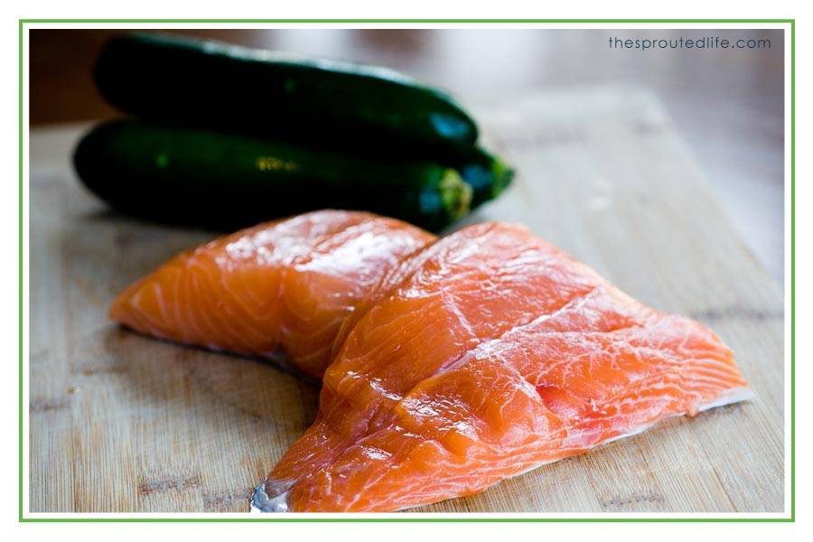 Zucchini Salmon Patties (gluten-free & paleo)