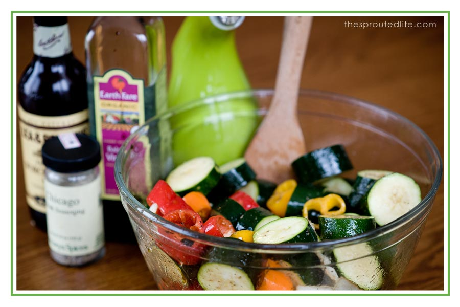 It's Been a Long Winter:  Marinated Veggies