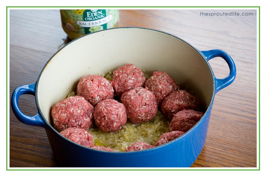 SaurkrautandMeatballs1