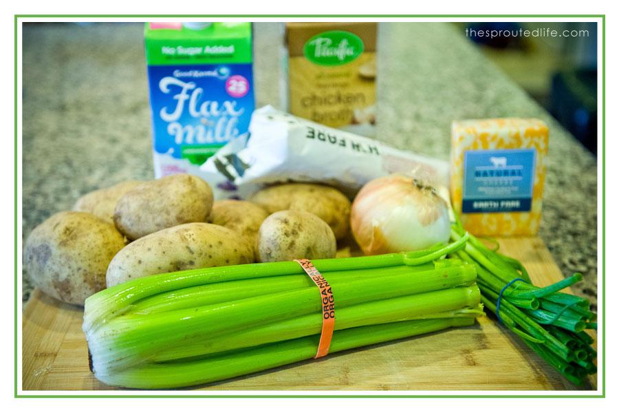 Loaded Potato Soup – Gluten Free (Optional Dairy Free)