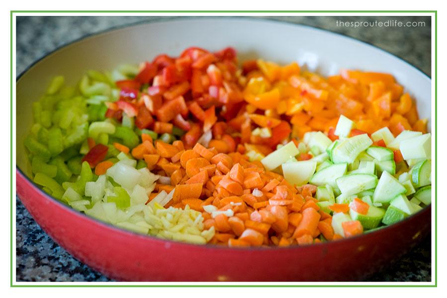 Loaded Sloppy Joes (an evolution in veggies) – gluten free