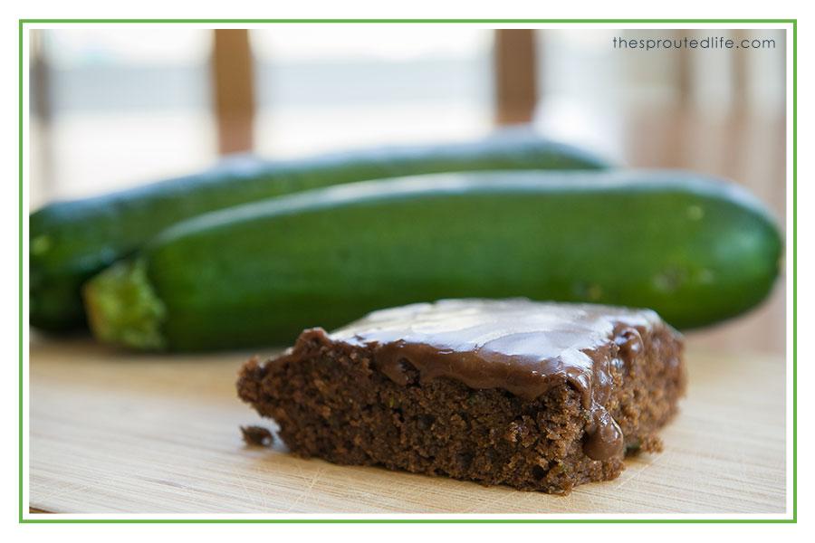 Gluten Free Chocolate Zucchini Sheet Cake (Gluten-free & Dairy-free)