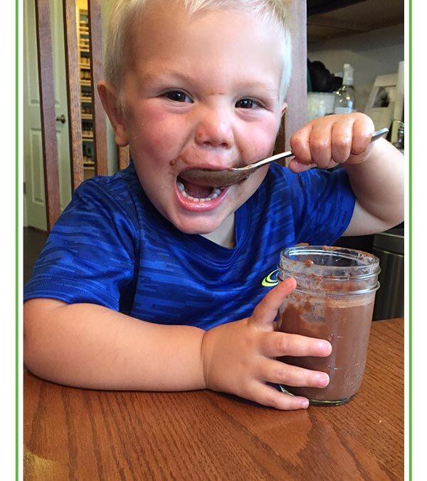 Paleo Chocolate Pudding with Grass-Fed Gelatin