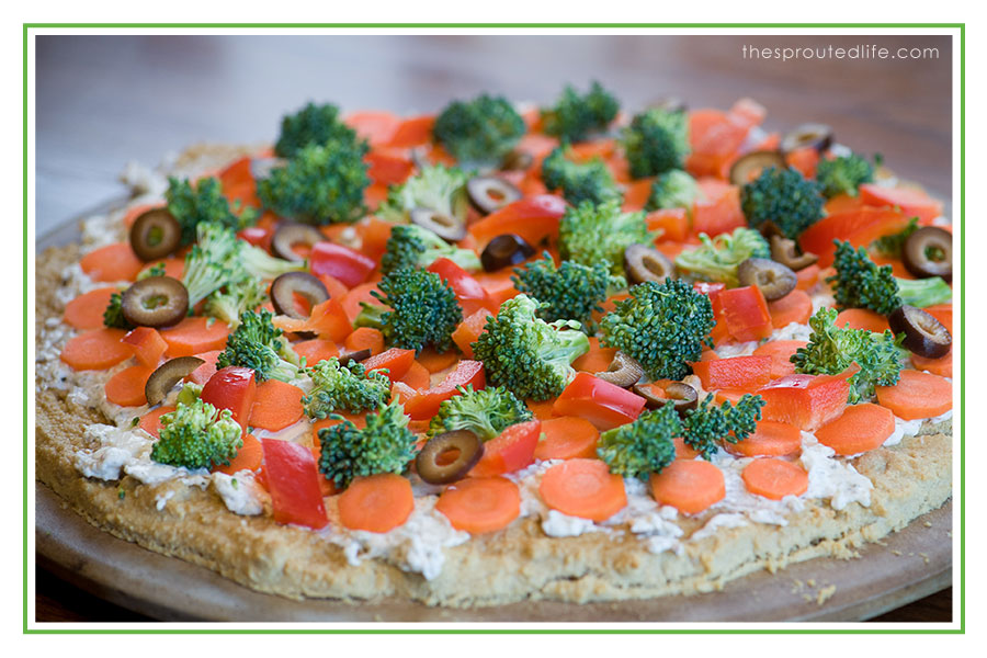 Grain Free Veggie Pizza